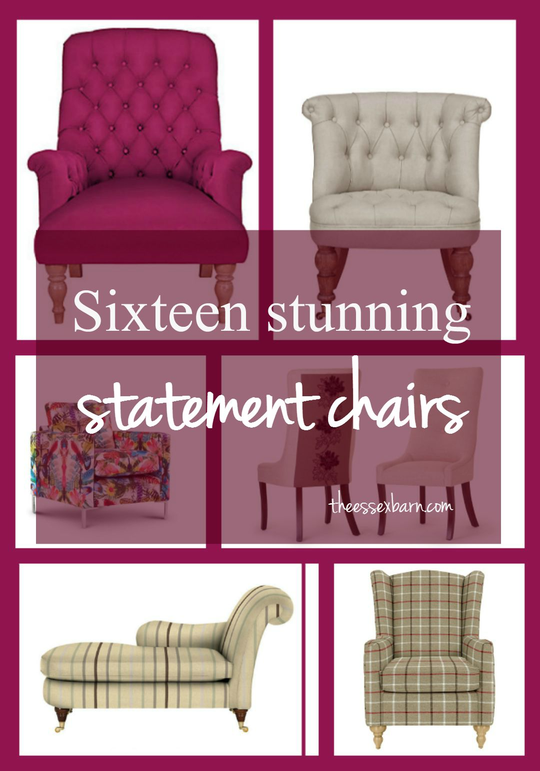 16 stunning statement chairs - TheEssexBarn.com