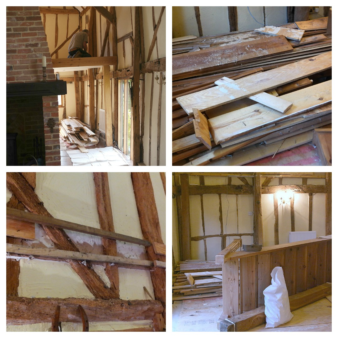 The removal of the mezzanine at The Essex Barn