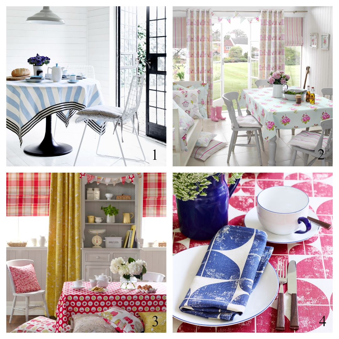 Stunning fabrics to style your Summer table
