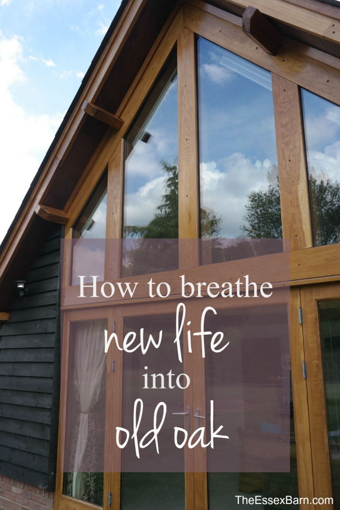 How to breathe new life into old oak pinnable image