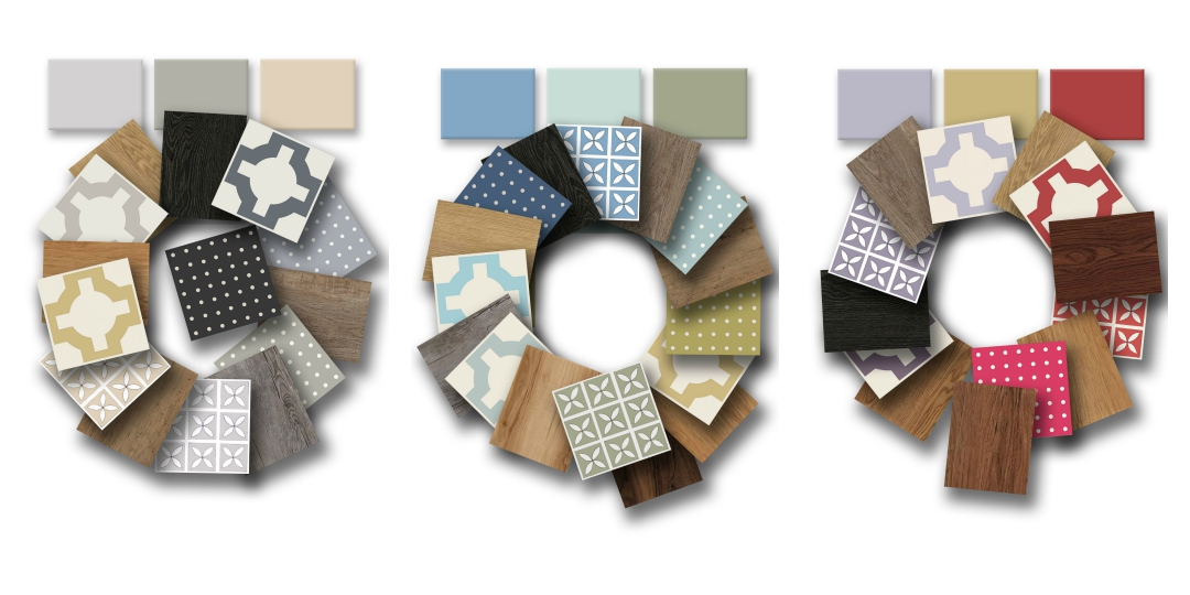 New Harvey Maria colour tiles
