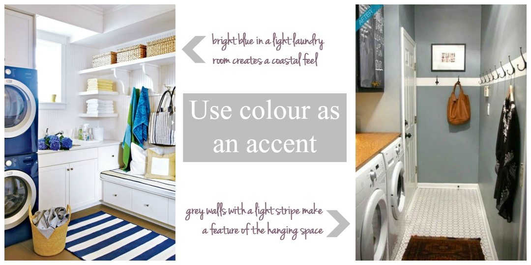 Use colour as an accent