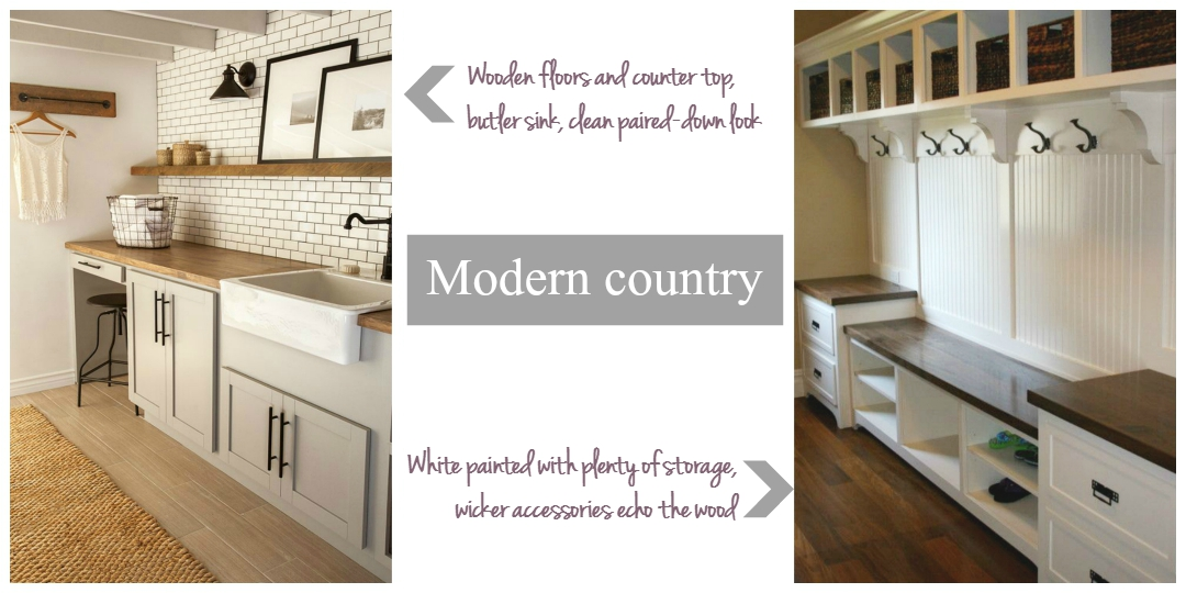 Modern country paired down look