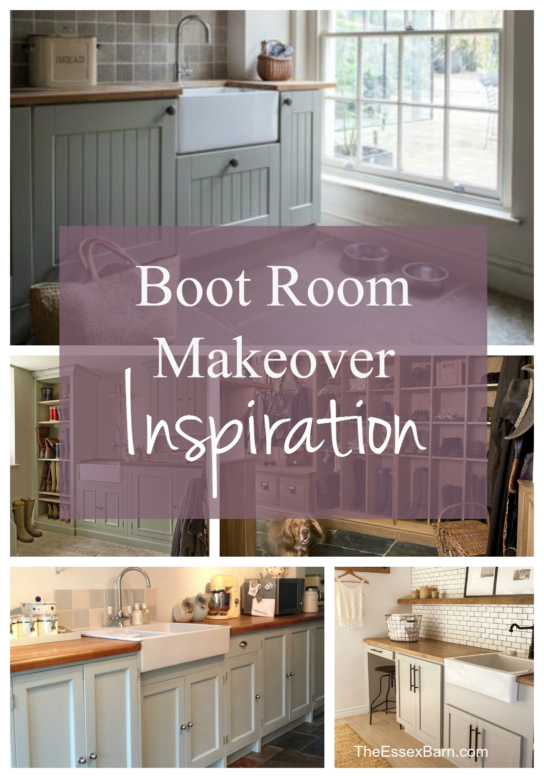 Pinnable boot room makeover inspiration