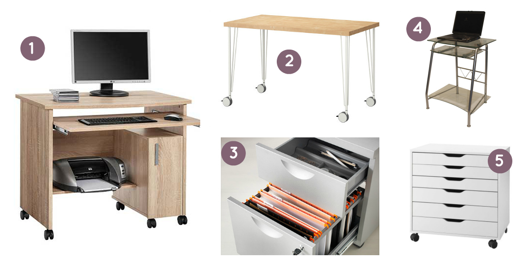 A selection of home office desks for small spaces - TheEssexBarn.com