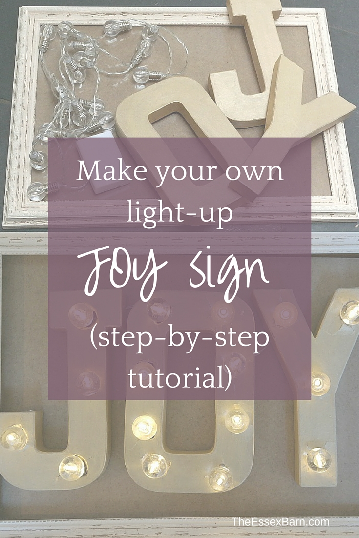 Step-by-step tutorial Make a JOY light pinnable image