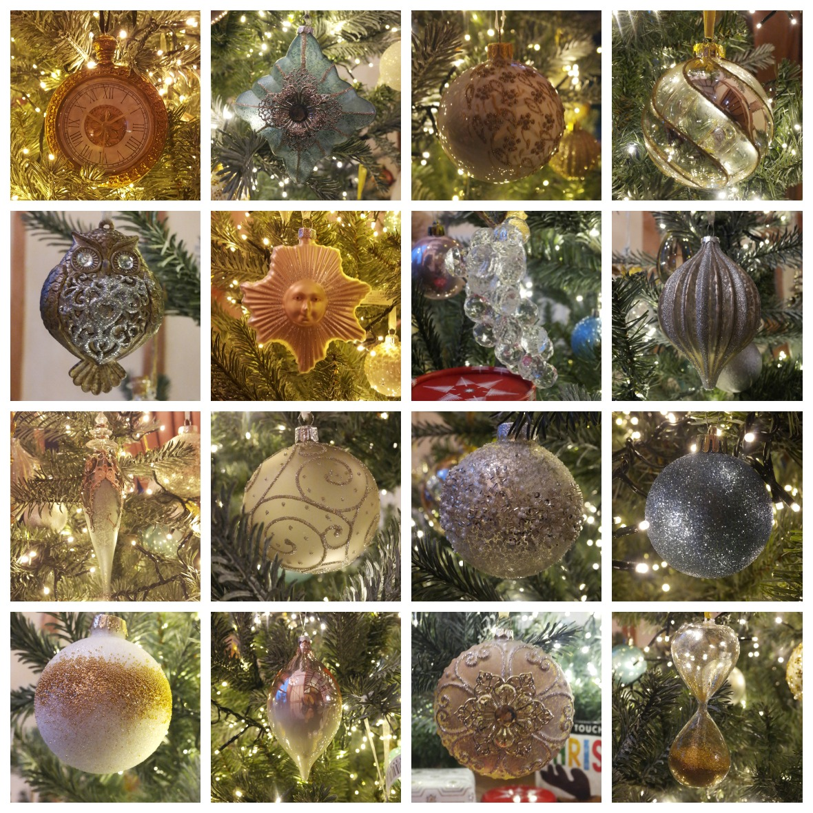 John Lewis Christmas Baubles at TheEssexBarn.com