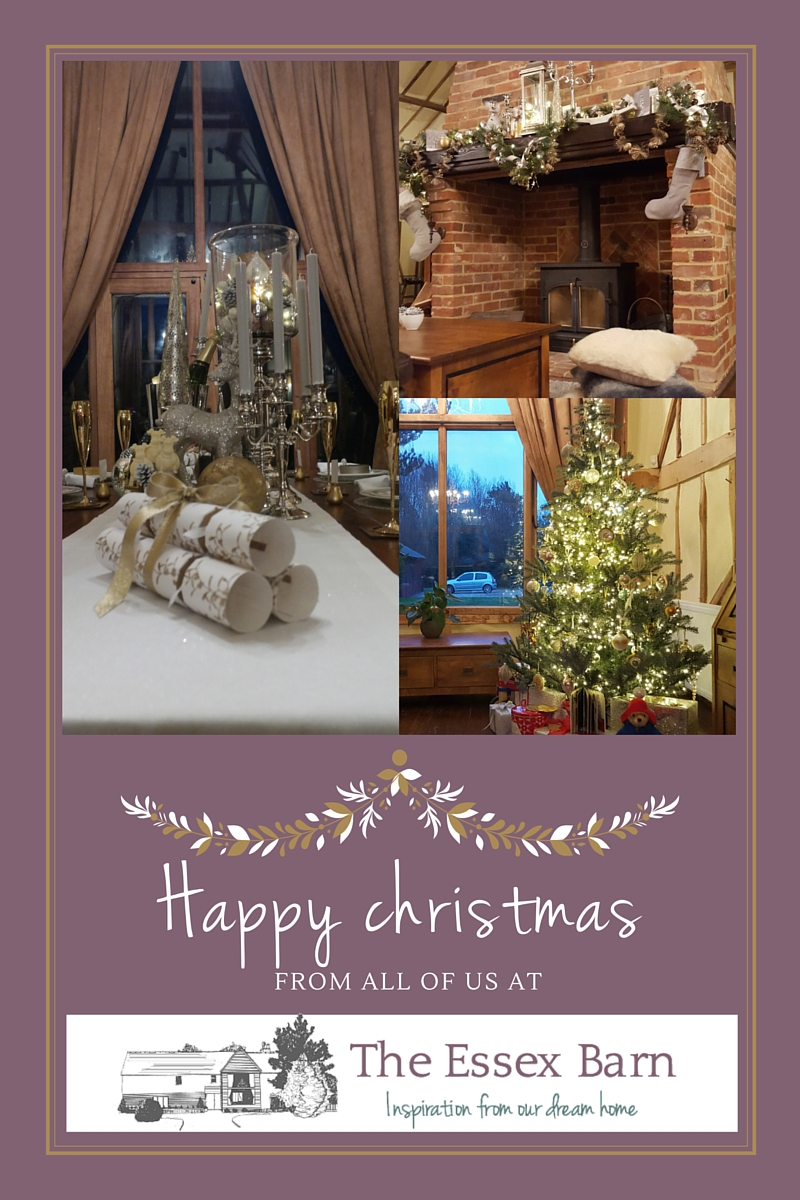 Happy Christmas from The Essex Barn