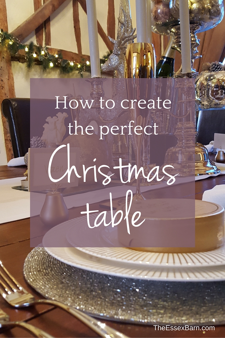 How to create the perfect Christmas Table - TheEssexBarn.com