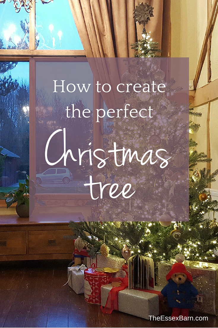 How to create the perfect Christmas Tree at TheEssexBarn.com