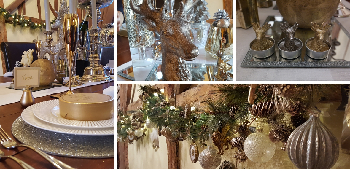 Our Christmas table is a feast for the eyes!