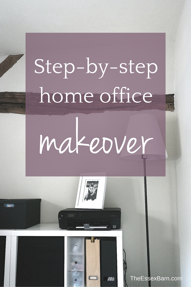 Office makeover post The Essex Barn