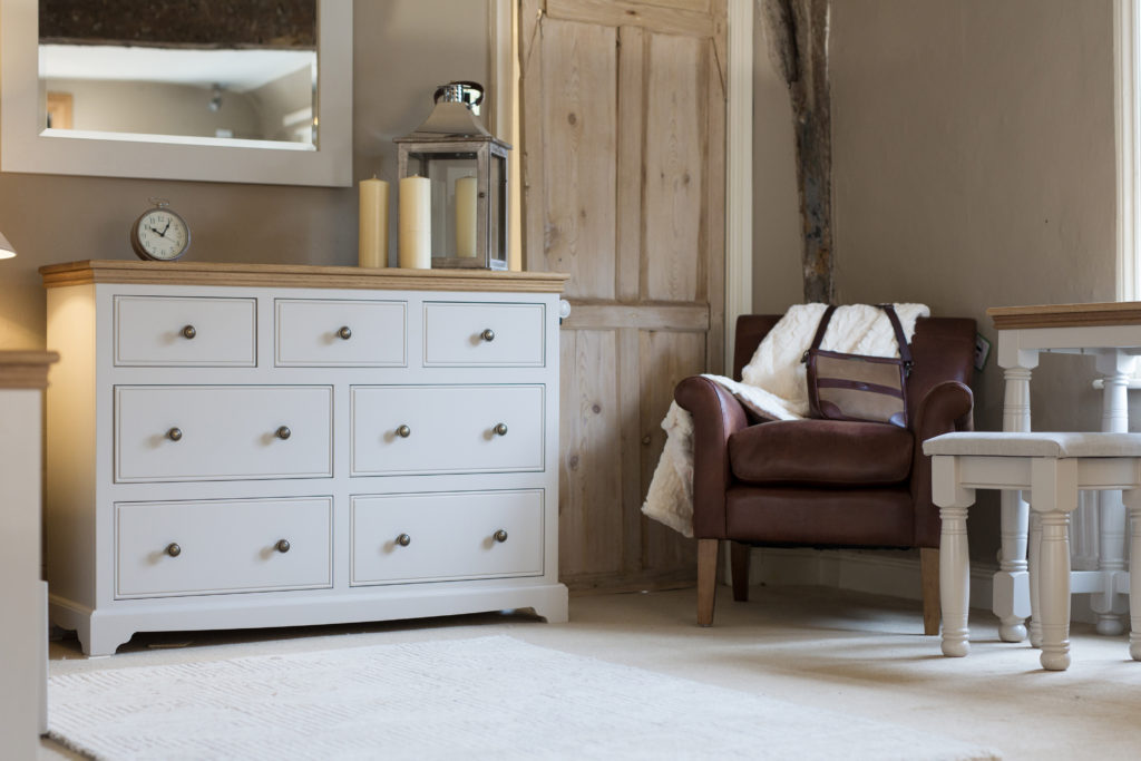 Oxford bedroom furniture from The Painted Furniture Company
