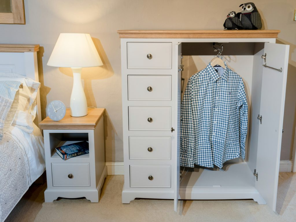 Oxford Low Wardrobe from the Painted Furniture Company